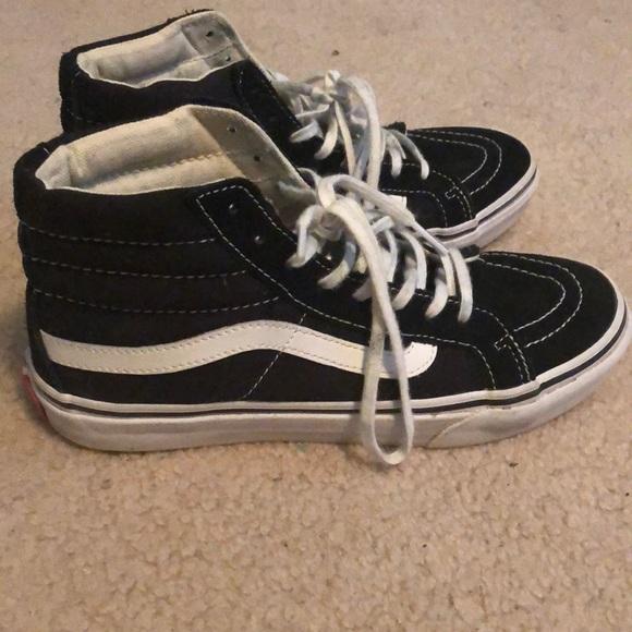 Vans Shoes | Black Vans Superstars